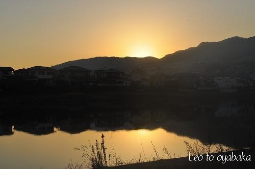 川辺の夕焼けがきれいだったよ(#^.^#).jpg
